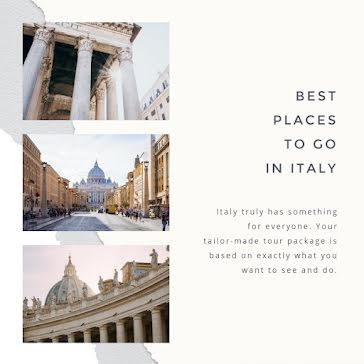 Tailor-Made Tour Package - Instagram Post Template