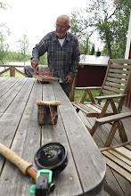 Photo: Olovs linvinda och stövelknektens andra uppgift