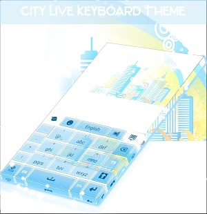 City Live Keyboard Theme- screenshot thumbnail