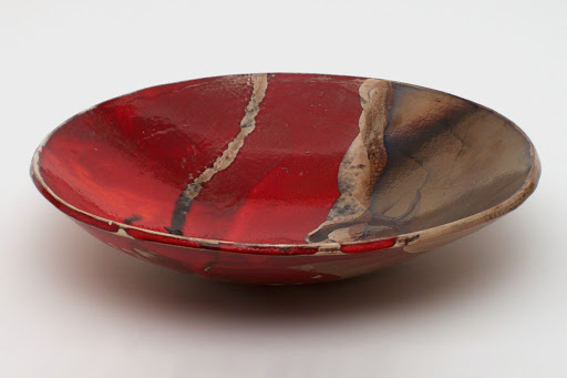 Bruce Chivers Ceramic Raku Charger 02