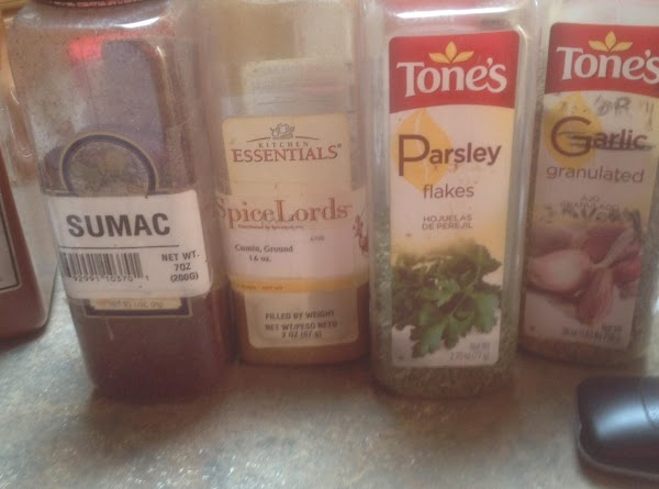 Third group of spices, I prefer to buy the large bags of garlic that...