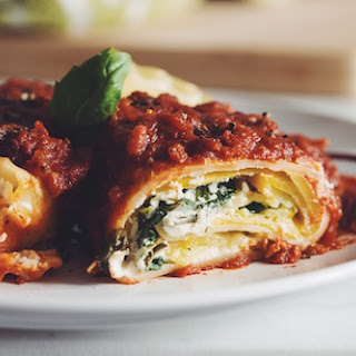 Vegan Lasagna Roll Ups With Almond Ricotta →