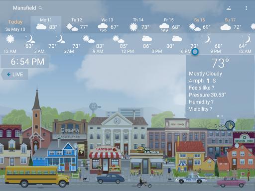 Precise Weather YoWindow Screenshot