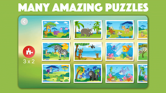 Cute Animal Jigsaw Puzzles for kids & toddlers 🦁- screenshot thumbnail