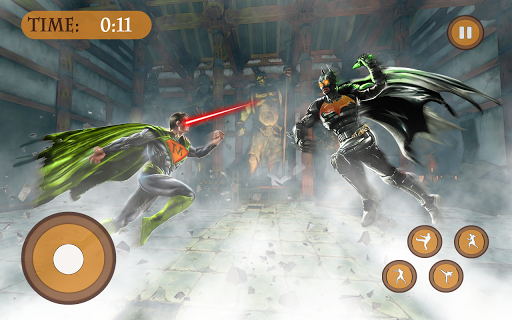 Télécharger Gratuit Superhéros Fighting dieux immortels Anneau Battle APK MOD (Astuce) screenshots 1