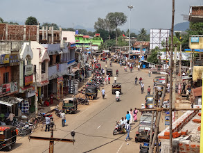 Photo: This is Phulbani where the wedding was located. Due to the cyclone there was no electricity in this city. This is the same city that MTM conducted a pastoral leadership conference in back in February....actually the wedding was in the same church where the conference was conducted.