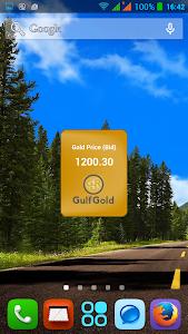 Gold Price Widget screenshot 1