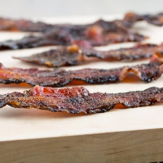 Cajun Candied Bacon.
