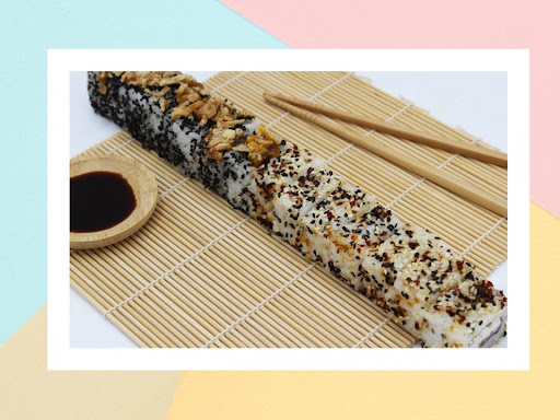 Aldi is selling a foot-long sushi roll for £2.49
