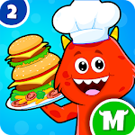 My Monster Town: Restaurant Cooking Games for Kids 1.2