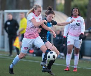 Vrouwen Club Brugge gaan onderuit in Nederland