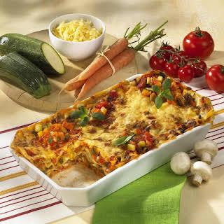 Vegetable Lasagne.