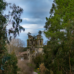 Mosteiro de Seiça by Edu Marques - Buildings & Architecture Decaying & Abandoned ( old house, old, sky, old town, trees, ruins, old building, landscapes, landscape )