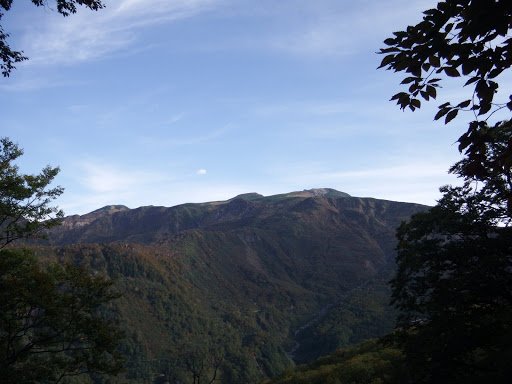 白山の展望台