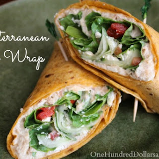 Tuna Cheese Wraps Recipes.