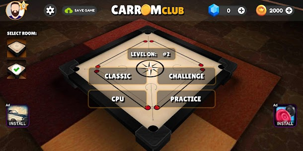 Carrom Club 3D FREE ( CARROM BOARD GAME ) App Latest Version  Download For Android 3