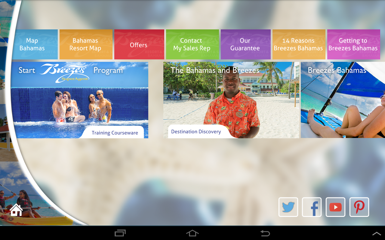 Breezes Resorts SuperAgent- screenshot