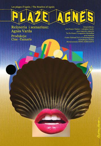 Polski plakat filmu 'Plaże Agnes'