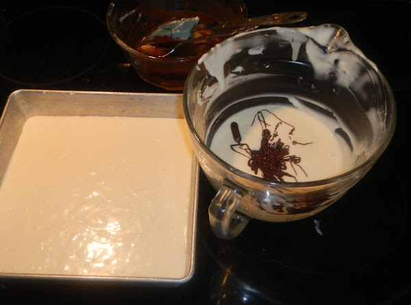 Pour in the white mixture into a well buttered 10 inch pie plate or...
