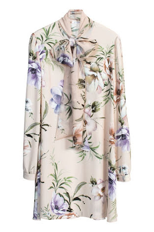 Shirley Dress, pastel floral