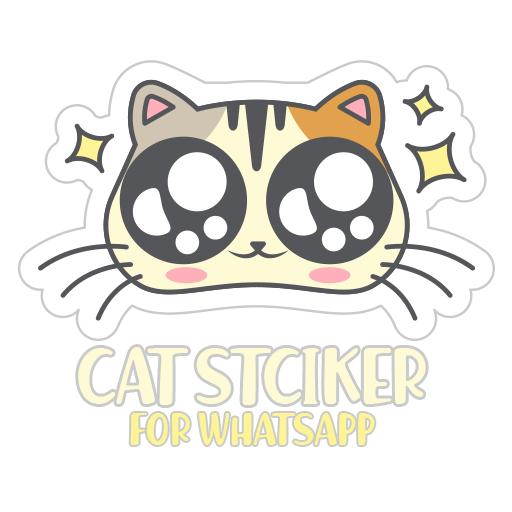 WAStickerApps - Cat Sticker For Whatsapp