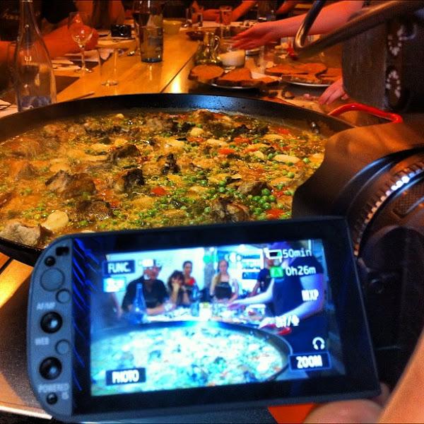 Photo: Paella party!