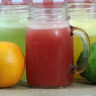 Aqua Fresca Fruit Drink 3 Ways.