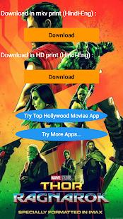 Thor : Ragnarok Movie (Eng-Hindi) - náhled