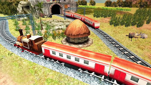 Real Indian Train Sim 2019: Free Simulator  captures d'u00e9cran 2