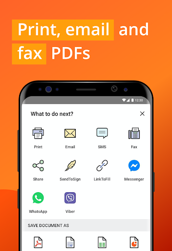 PDFfiller screenshot 5