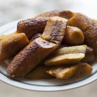 Fried Sweet Plantains (Platanos Maduros)