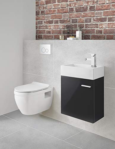 Swiss Madison Well Made Forever Ivy SM-WT450 Wall Hung Toilet, Glossy White