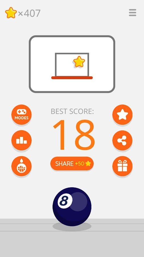 Ketchapp Basketball- screenshot