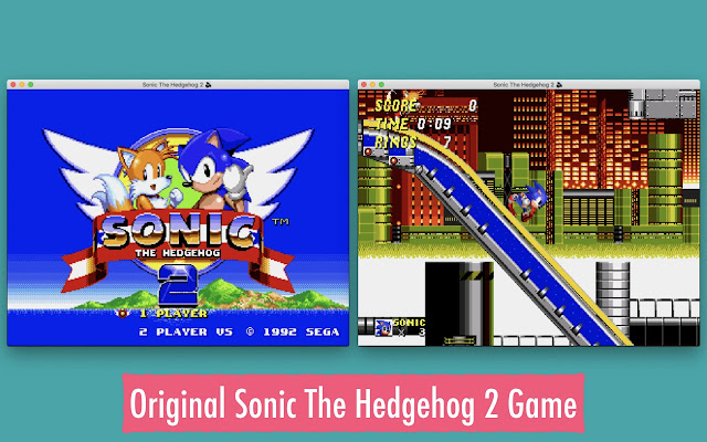 Sonic The Hedgehog 2 Game