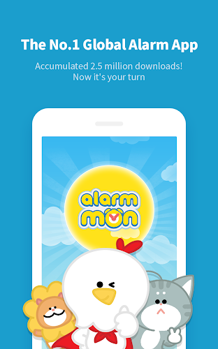 AlarmMon - Free Alarm Clock Android App Screenshot