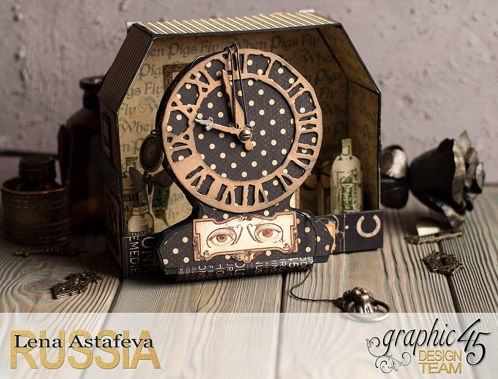 Olde Curiosity Shoppe-Album and Shoppe-tutorial by Lena Astafeva-products by Graphic 45-29.jpg
