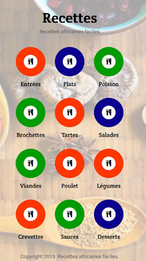 Recettes Africaines Faciles