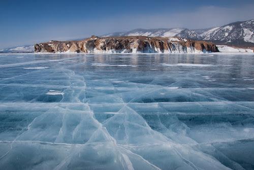 Baikal ice by Danil Korzhonov - Landscapes Mountains & Hills ( baikal )