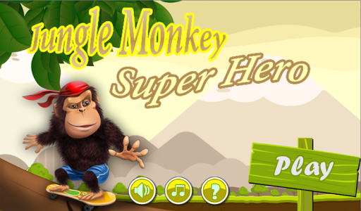 jungle monkey super hero