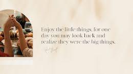 Little Big Things - Thanksgiving item