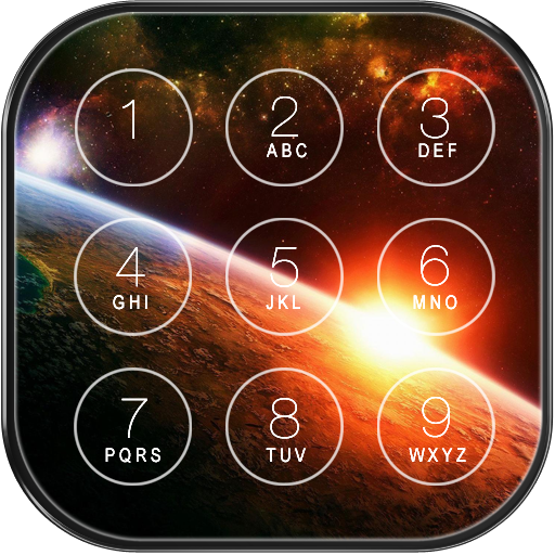 Space Galaxy Lock Screen Icon