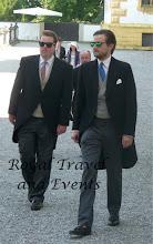 Photo: on the right Hereditary Prince Ferdinand zuuLeiningen