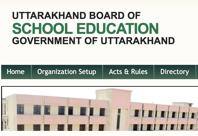 Uttarakhand School Board Result