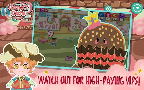 Candy Cafe- screenshot thumbnail