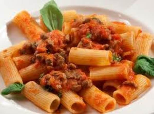 Easy Rigatoni Recipe