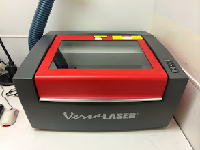 Photo: The VersaLaser has been really handy for laser etching aluminum bits.