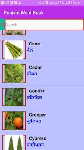 Punjabi Word Book for PC-Windows 7,8,10 and Mac apk screenshot 5