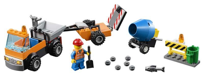 Contenido de Lego® 10750 Camión de Obras en Carretera