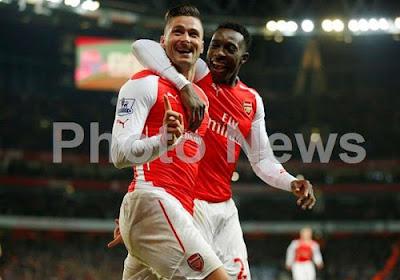 Olivier Giroud et Arsenal dominent facilement Newcastle