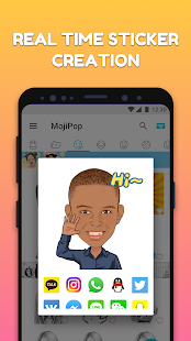 MojiPop - GIF Sticker Keyboard (AiMee) Screenshot